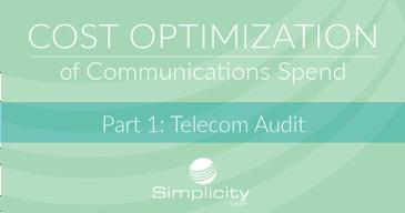Cost Optimization of Communications Spend Telecom Audit