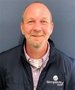 Larry Sims promoted to VP of Network Engineering at Simplicity VoIP
