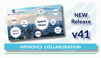 Simplicity VoIP v41 Improves Collaboration