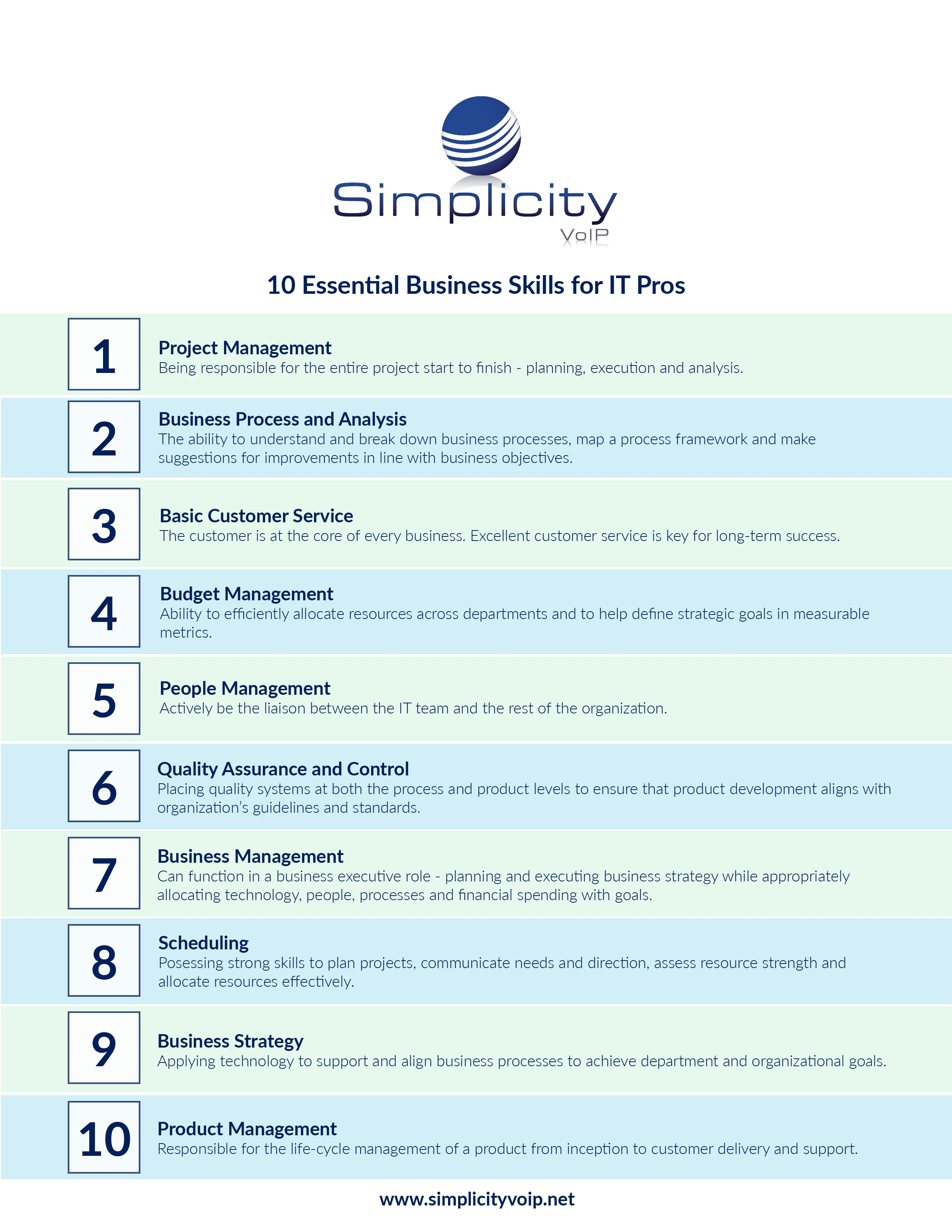 10 Essential Business Skills for IT Pros