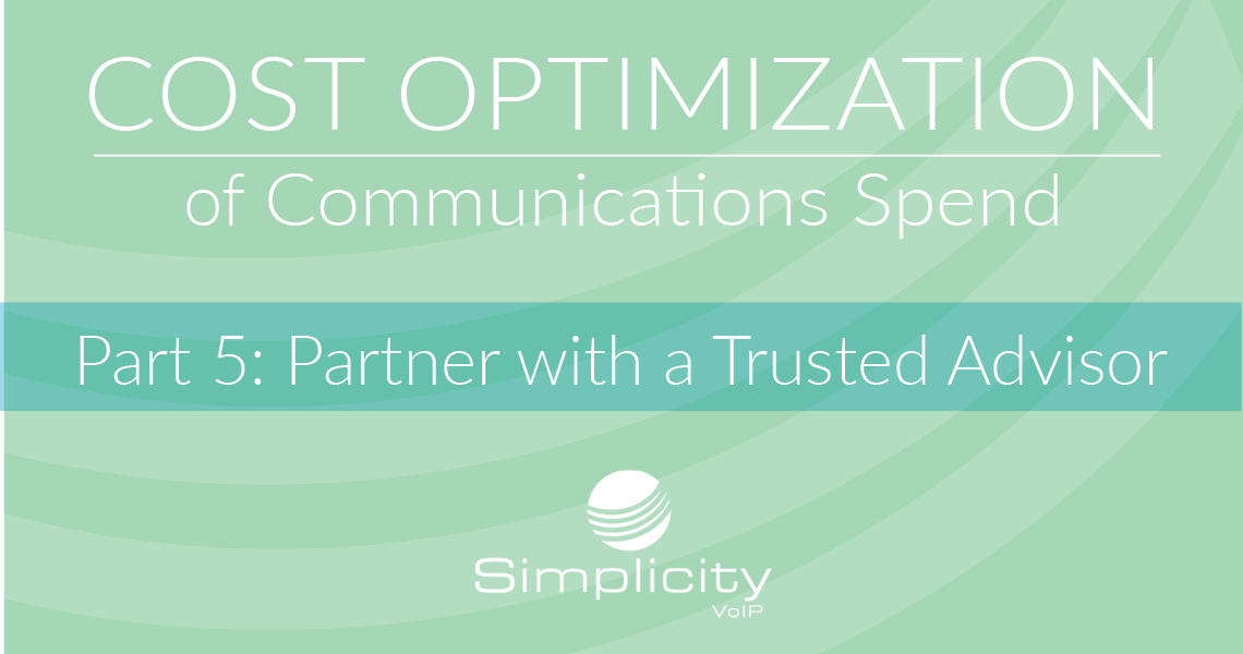 Cost Optimization Part 5 - Partner with a Trusted Advisor