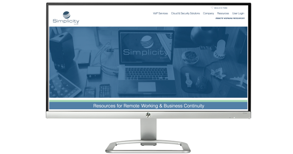 Simplicity VoIP Releases Remote Work and COVID Resource Site